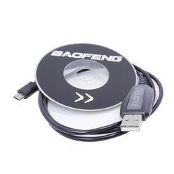 BF-T1 аксессуары USB Кабель для программирования + CD прошивка для BAOFENG BF-T1 мини рация BF-9100 мобильное радио BFT1