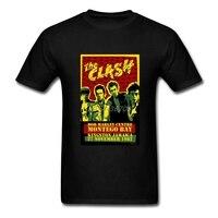 The Clash T Shirt Short Sleeve Clothes For Men Summer Online Cotton Crewneck XXXL Funny T