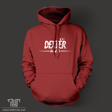 dexter slice of life pullover hoodie sweatershirt men women unisex 82% organic cotton fleece high quality Free Shipping