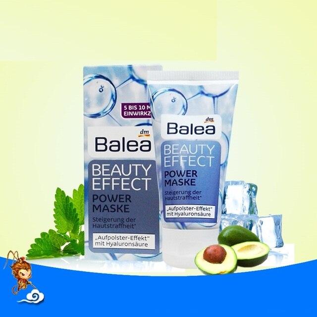 Germany Balea Beauty Effect Anti-Wrinkle Power Mask Hyaluronic Acid & Shea Butter Vegan Fine lines & dry wrinkles smooth skin