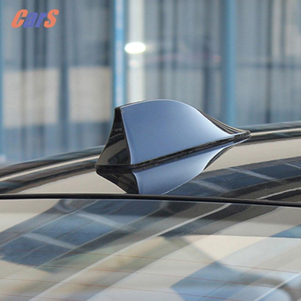 Universal Car Antenna Radio Auto SUV Roof Special Radio FM Shark Fin Antenna Aerial Signal Car Styling Accessaries