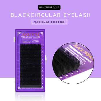 BLACE PRINCE individual mink eyelashes russian volume eyelash extensions supplies mega volume lashes individual lash extension 1