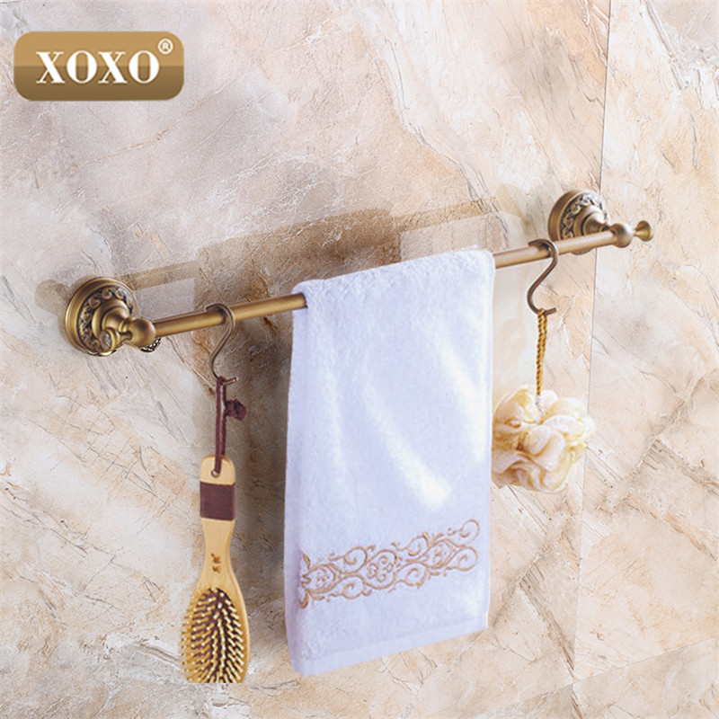 где купить XOXO Single Towel Bar,Towel Holder,Solid Brass Made,Antique Finish, Bath Products,Bathroom Accessories20024B по лучшей цене
