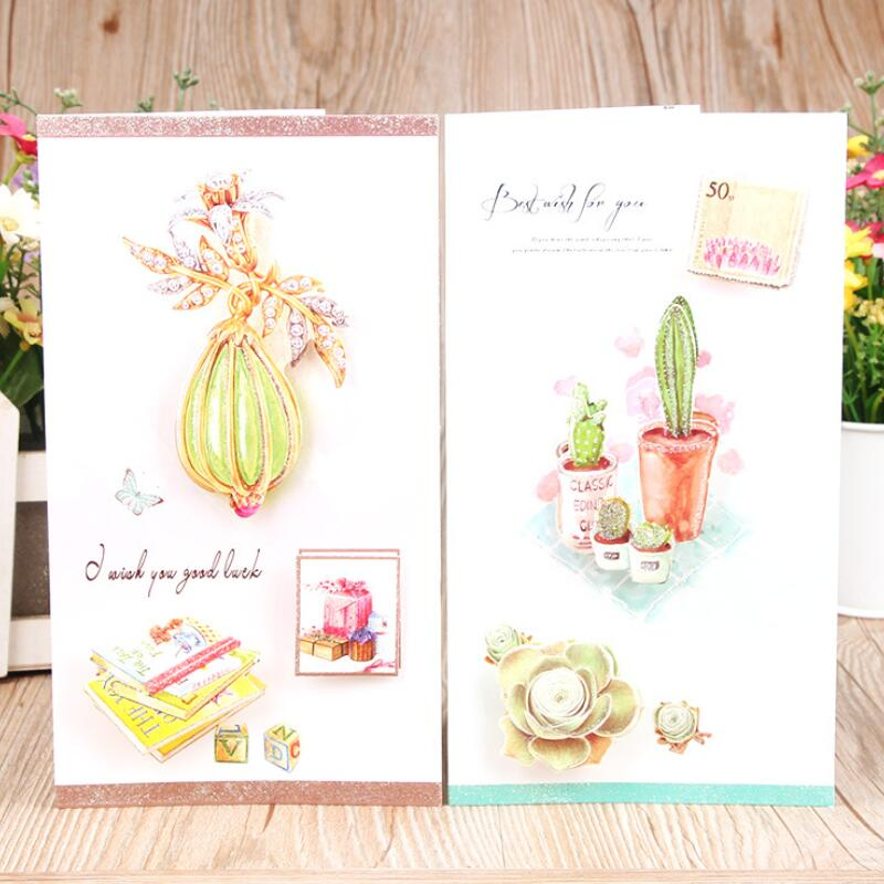 8 pcslot succulent plants flower message greeting cards kids 8 pcslot succulent plants flower message greeting cards kids students gift cards christmas postcard birthday card in cards invitations from home garden m4hsunfo
