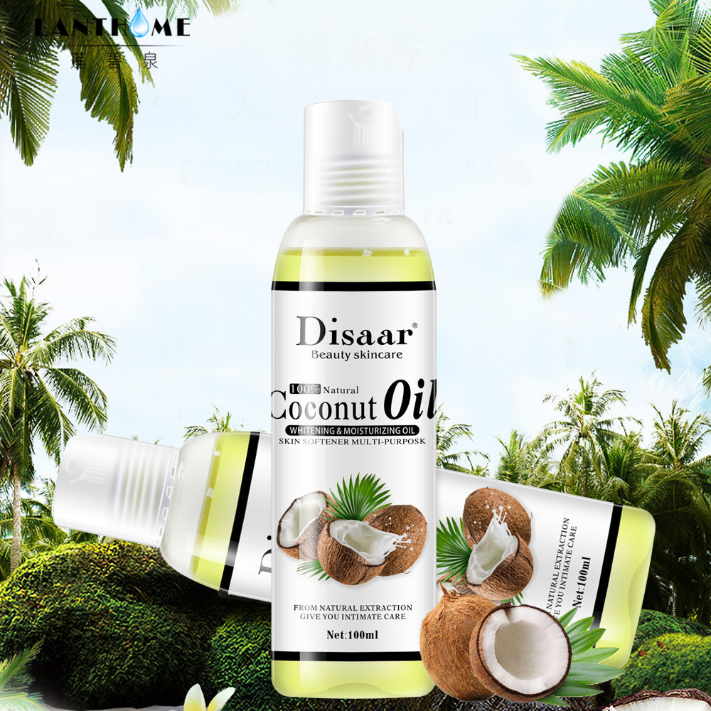 Disaar 100% Natural Organic Virgin Coconut Oil Body and Face Massage Best Skin Care Massage Relaxation Oil Control Product 2