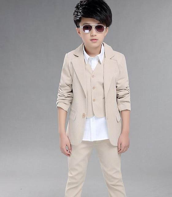Online Shop Boys wedding suit Kids Tuxedos Page boy Outfits 3 ...