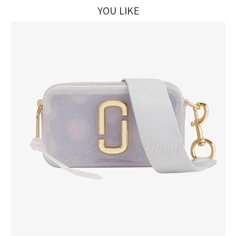 2019 High quality designer brand female small shoulder bag color wide shoulder zipper mini square bag