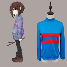 BOOCRE Customized Undertale Chara Cosplay Costum Game Top Shorts Full Set Clothing