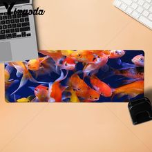 Yinuoda Boy Gift Pad cool fish goldfish Large Mouse pad PC Computer mat Size for 18x22cm  30x90cm 40x90cm