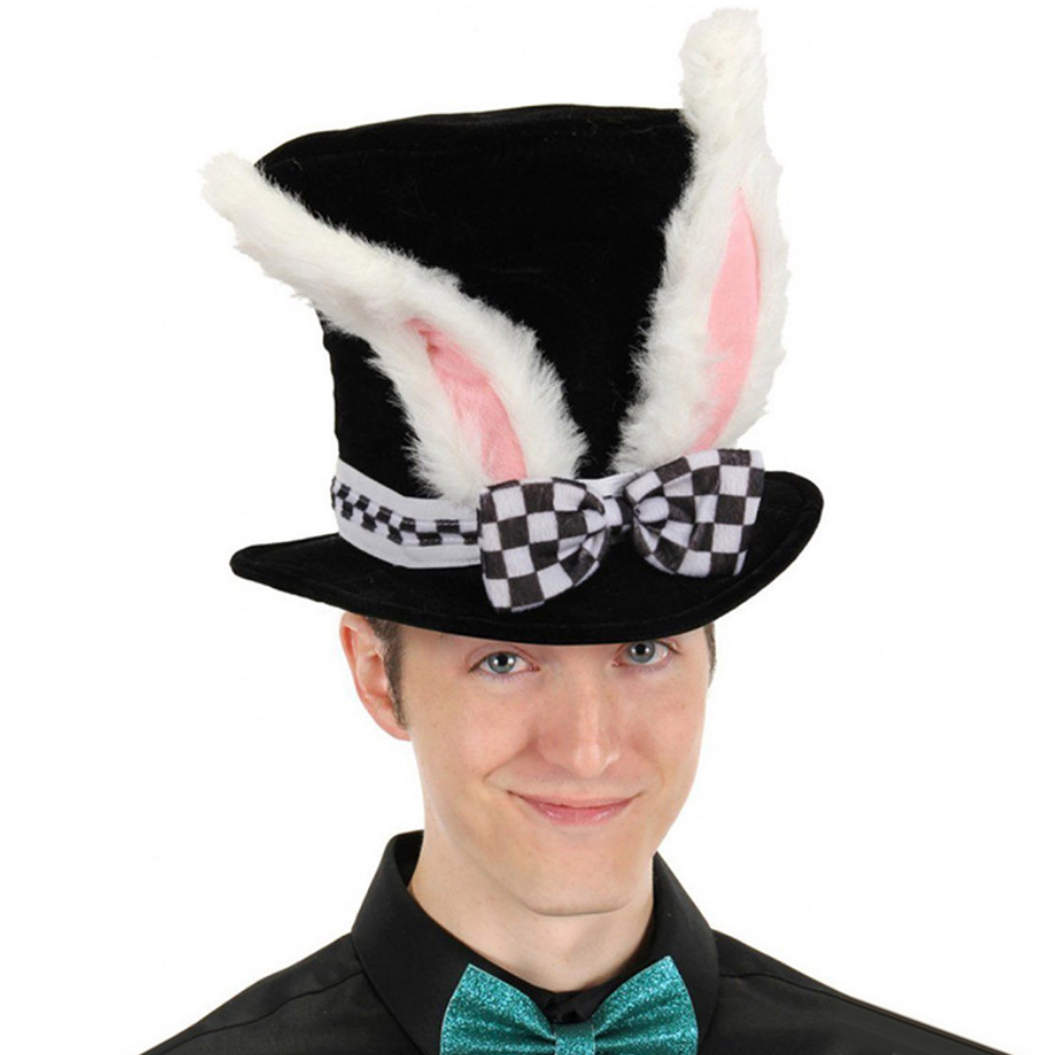 Besegad Lovely Funny Bunny Rabbit Ear Easter Top Hat For Festival Birthday Masquerade Cosplay Party Photo Props Costume Supplies