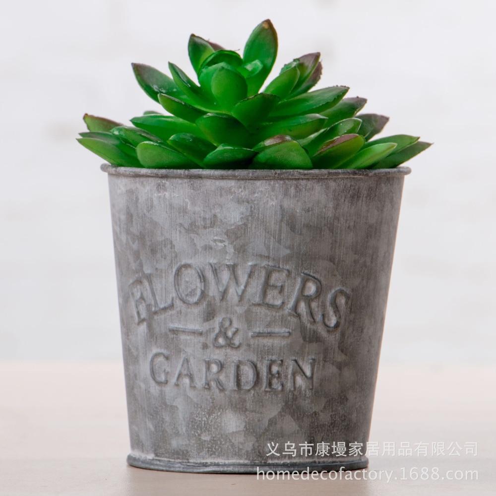 Good Pot De Fleur Jardin #12: Creative Fer Planteur De Jardin Pot De Fleurs Plantes Succulentes Jardin  Bonsaï De-Chaussée Bureau
