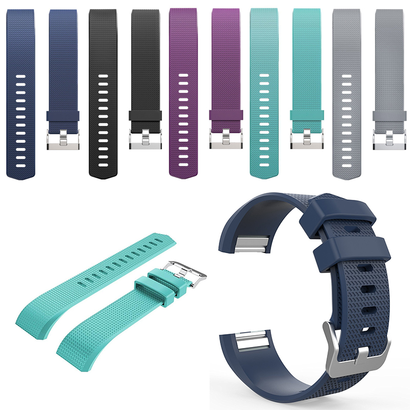 Sport Silicone Band for Fitbit Charge 2 Wrist Strap bracelet for Charge2 Replaceable Bracelet Strap bands fitbit charge 2 silicone band strap green