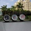 Автомобильный термометр измеритель Влажности Автомобильные электронные метр Световой часы Автомобиль часы Творческий украшения