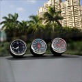 Vehicle mounted thermometer Moisture meter Automobile electronic meter Luminous watch Vehicle clock Creative ornaments