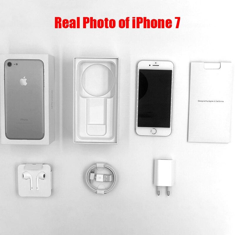 Original Apple Iphone 7/7 Plus 2GB RAM 32/128GB/256GB IOS 10 LTE 12.0MP Camera Quad Core Fingerprint 12MP Cell Phones