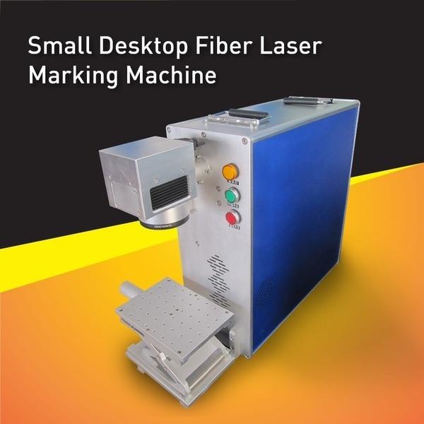 Kina hög noggrannhet kompakt design Mini Fiber Laser Marking Machine, lämplig skapa permanenta märken på alla typer av metalldelar