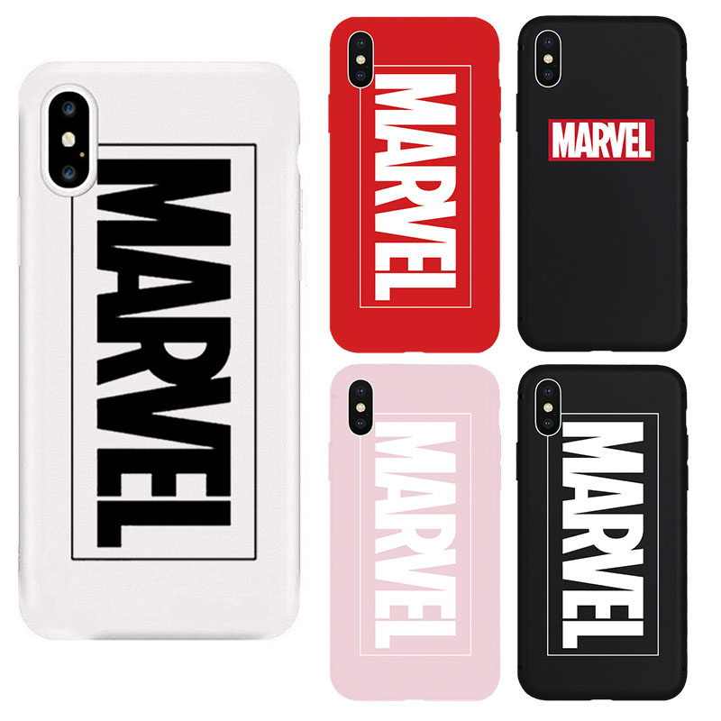 <font><b>MARVEL</b></font> Hero Culture Soft Matte <font><b>Case</b></font> for iPhone X 11 Pro XS MAX XRSuperman <font><b>Phone</b></font> cover for iPhone 7 8 Plus 6s Coque Shell Fundas image