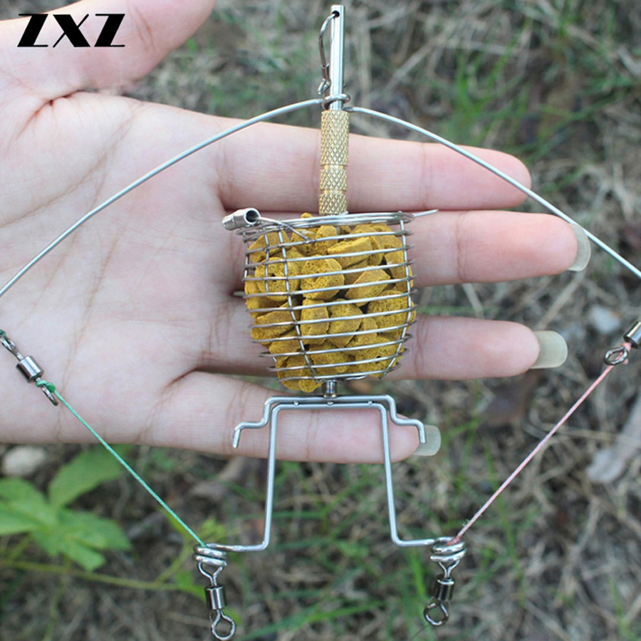 Stainless Steel Protable Fishing Tool Metal Semi Automatic Machine For Lure Lazy Fishing Hook Tier Tie Hooks Device Accessory T4