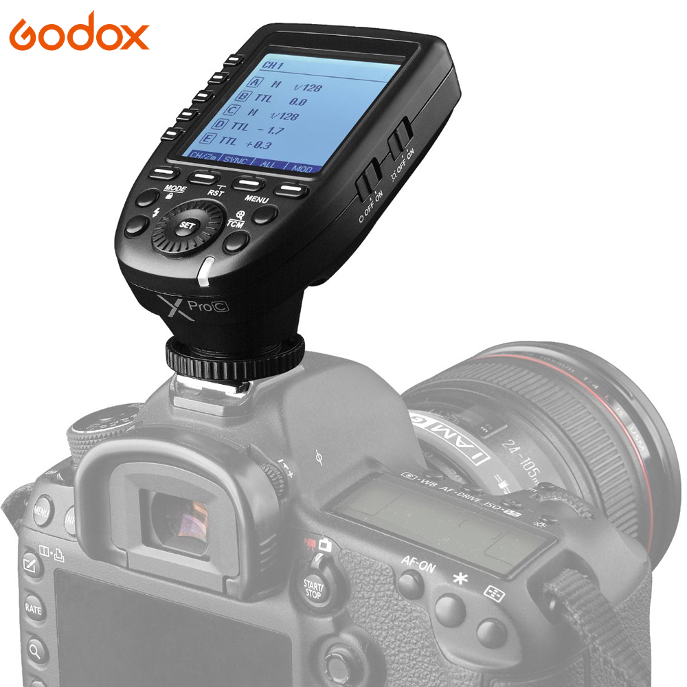 Image 5 - Godox Xpro Series Flash Trigger Transmitter Xpro C/N/S/F/O for all Type Camera for Canon Nikon Sony Olympus Panasonic Fuji-in Shutter Release from Consumer Electronics