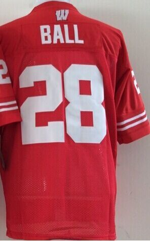 detailed look b3a2d bf964 Wisconsin Badgers jerseys Authentic College Football Jersey ...