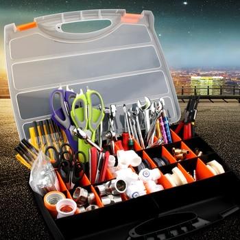 Portable Parts Box Screw Storage Box Metal Parts Hardware Screwdriver Vehicle Repair Hand Tool