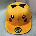 Anime Pokemon Pikachu Baseball Cap Cosplay Chapéu amarelo Novidade dos desenhos animados Hip Quente charme Traje Adereços cap