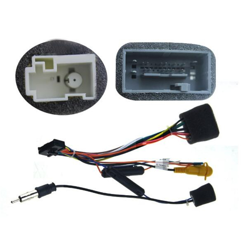 Joying verdrahtung ISO harness für Honda ACCORD auto radio power ...
