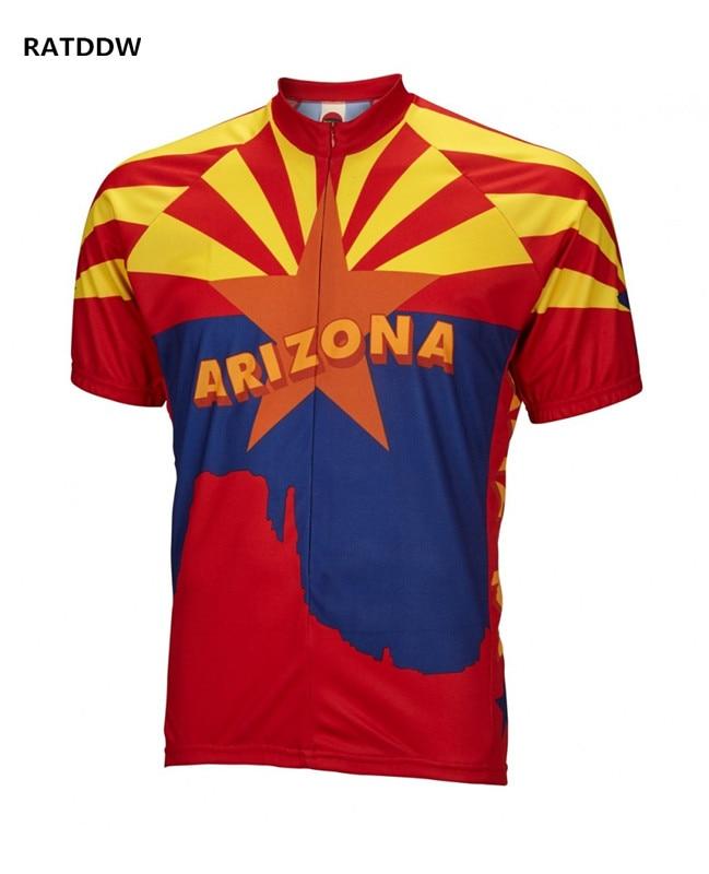 Arizona Cyklistický dres ropa ciclismo Pro Bike Bikecle Jersey Cyklistický dres pro muže Prodyšný Rychleschnoucí