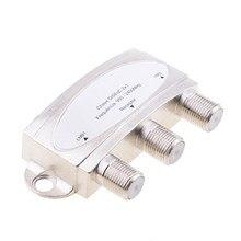 Wasserdicht Satellite 2x1 DISEqC Schalter LNB LNBF Kostenloser Zu Air Dish Network Multi-Schalter Für Satelliten-receiver ausgezeichnete chip