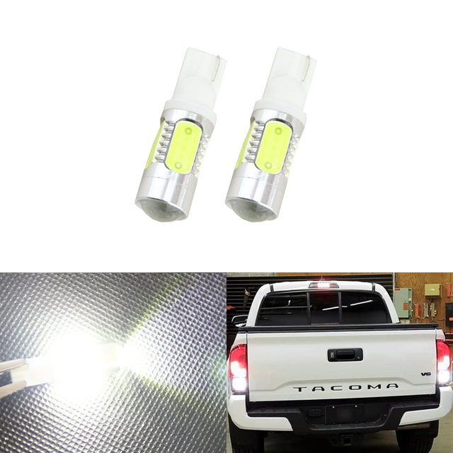 2pcs Xenon White Led Bulbs For Toyota Tacoma 2001 2017 Backup Reverse Lights W