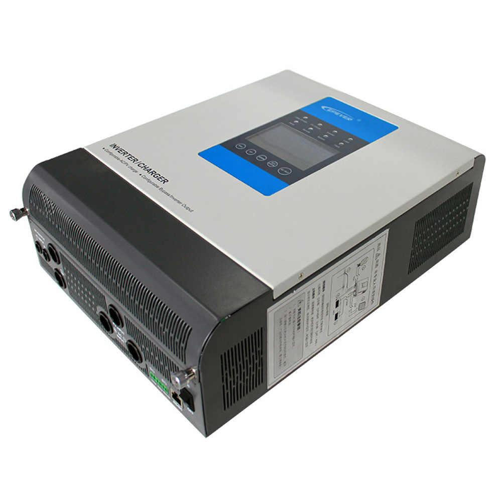 Inversor de energía Solar híbrido 3KVA con 24 V/48 V 30A MPP controlador de carga Solar inversor sinusoidal de onda pura AC 220 V 230 V de salida EPEVER