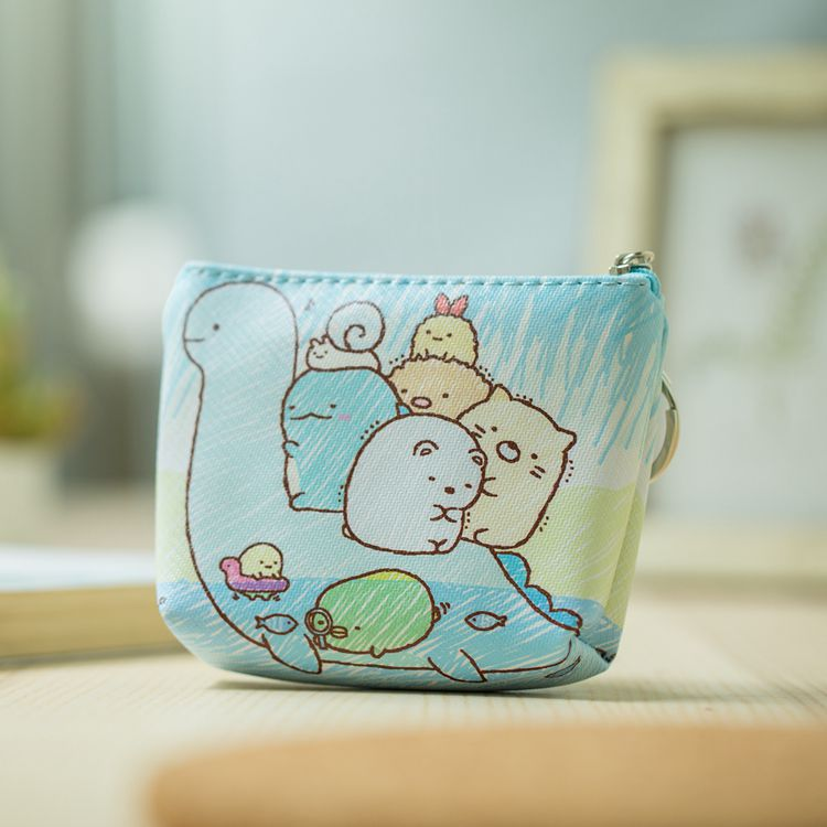HTB1EfJ4NXYqK1RjSZLeq6zXppXac Disney children cartoon purse Coin Mickey Mouse coin bag girl boy gift handbag storage key pendant bag kid packet wallet Frozen