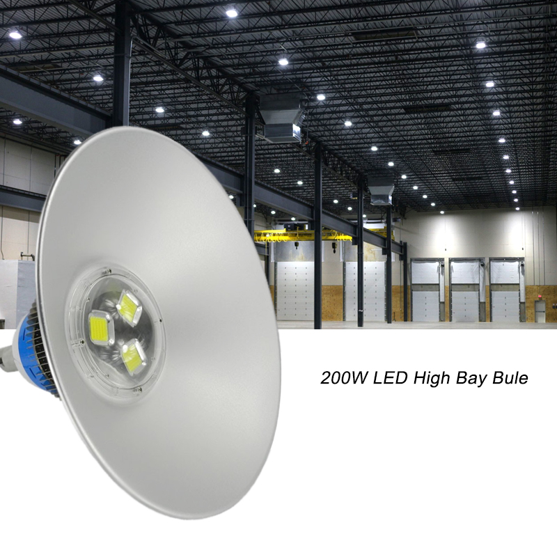 Bridgelux LED high bay 200W LED industrial lights LED High Bay 200W industrial light for factory Lighting warehouse Lamp nickel bay nick
