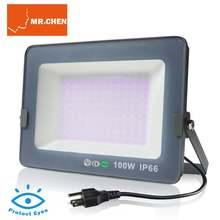 Водонепроницаемая светодиодная УФ лампа 365nm 395nm ультрафиолетовое