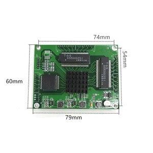 Image 3 - Промышленный мини порт 3/4/5 полный гигабитный коммутатор для преобразования оборудования на 10/100 Мбит/с, сетевой модуль слабого ящика коммутатора