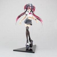 Vocaloid Hatsune Miku Shiie sailor suit version cartoon action figure 24cm anime decoration figurine with box 24cm toy Y7350