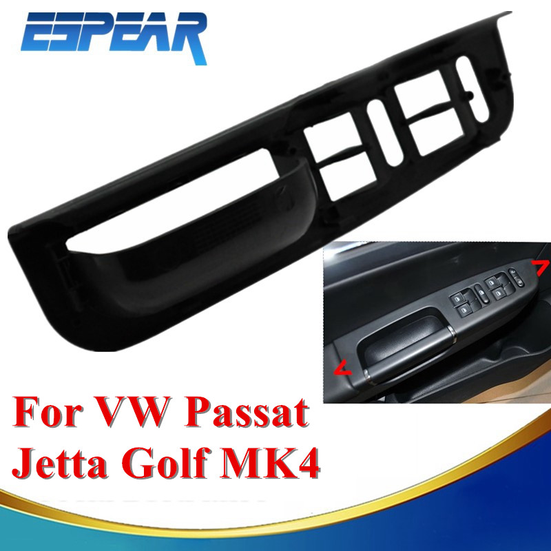 Car door side armrest window control switch panel trim for for 2000 vw beetle window switch