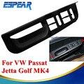 Painel Interruptor de Controle de Janela Indiscreta Braço Lateral Porta do carro Guarnição Para VW Passat Jetta Golf 4 MK4 1998 1999 2000 2001 2002 2003 2004 #9116