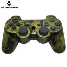 Woopower de juegos inalámbrico bluetooth controller joystick para sony ps3 para playstation bronce coloer