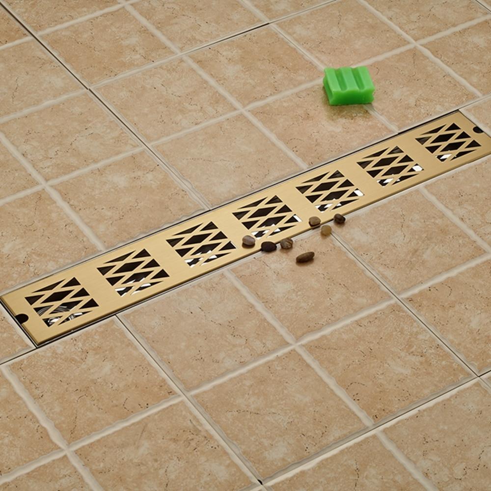Modern Square Stainless Steel Bathroom Grate Waste Floor Drain free shipping deodorant floor waste drain oil rubbed bronze 10cmshower floor cover sink grate