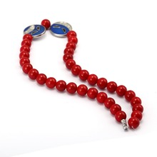 Ace Red Beads Necklace