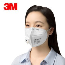 5pcs 3M 9001V KN90 Vent Anti-dust Masks Anti PM2.5 Industrial Construction Dust Pollen Haze Gas Family&Pro Site Protection masks