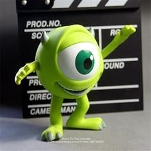 Disney Monsters University Mike Wazowski Mr Q money pot 13cm Action Figure Anime Mini Decoration Collection Figurine Toy model