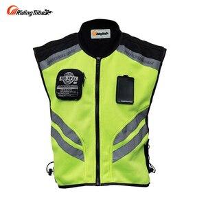 Image 1 - רכיבה שבט אופנוע אופנוע אופני מירוץ גבוהה גלוי רעיוני אזהרה מעיל, JK22 בגדי בטיחות רעיוני
