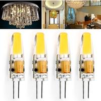 oobest 1PCS New arrival 12V COB LED Bulbs 2W 3W AC DC 12V LED G4 COB lamp Replace for Crystal LED Light Bulb Spotlight