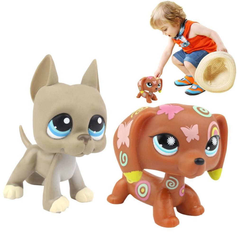Lps Toy pet Shop Mini Toy Animal dog collection Action Figures Kids toys lps toy bag 25pcs pet shop animals cats puppy kids boy and girl action figures pvc lps toy birthday christmas gift 4 5cm