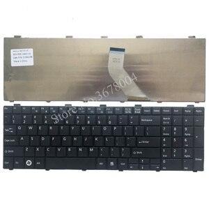 Image 2 - 新usキーボード富士通lifebook AH530 AH531 NH751 A530 A531黒英語ノートパソコンのキーボード