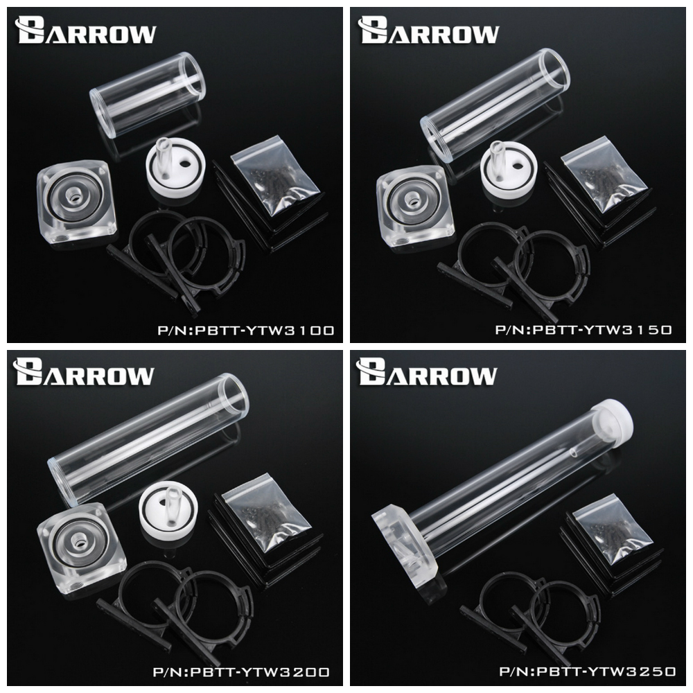 все цены на  Barrow PMMA DDC Pump Integration Reservoir Mod Kit PBTT-YTW  онлайн