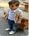2017 autumn winter children boy jacket+T shirt+denim jeans pants 3 pcs tracksuit clothing set fashion kid sport suit DY029B