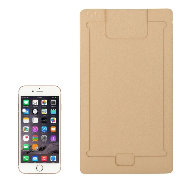 Aluminium Alloy LCD Screen Remove Adhesive Double-side Fixed Mould for iPhone 6 & 6 Plus